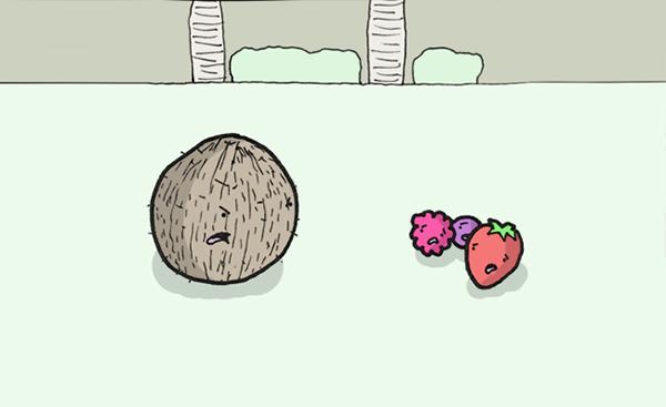 Racist coconut comic