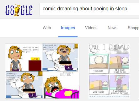 Google image search comics