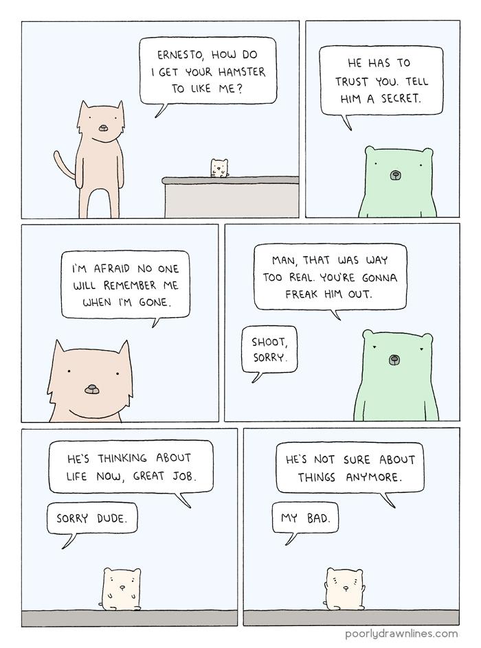 Hamster comic