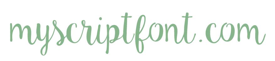 MyScriptFont font creation