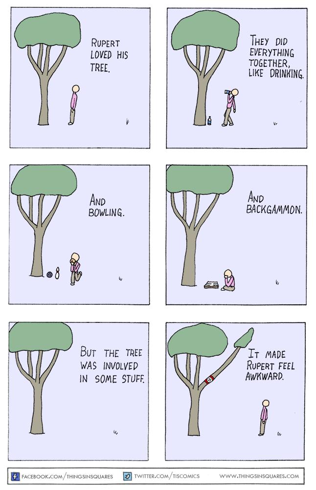 A comic of a tree nazi